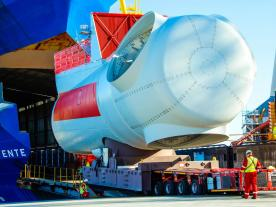 The two purpose-built vessels, each with a length of approximately 140m, are also operated by deugro Danmark A/S exclusively for Siemens Gamesa. (Photo: SGRE)