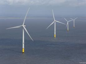 The 90 MW Burbo Bank offshore wind farm has been in operation since 2007 and is capable of supplying electricity for up to 80,000 UK homes. (Photo: ABB)