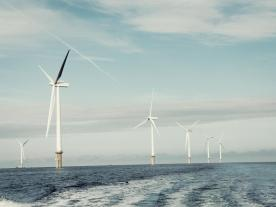 Fully commissioned in 2019 offshore wind farm Borkum Riffgrund 2 will supply CO2-free power corresponding to the annual electricity consumption of approximately 460,000 German households. (Photo: DONG Energy)