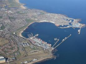 Peterhead Port has been awarded a major EOWDC contract (photo: EOWDC)