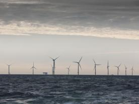 DONG Energy will build Dutch offshore wind farms Borssele 1 and 2 about 20 km from the coast of the province of Zeeland. (Photo: DONG Energy)