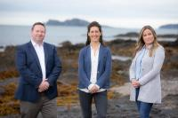 (l to r): Austin Coughlan, Head of Temporis Aurora Fund and Director of Inis Offshore Wind;  Vanessa O'Connell, Head of Inis Offshore Wind and Aoife Galvin, Senior Offshore Project Manager, Inis Offshore Wind, who joined from ESB (pict. ReputationInc)