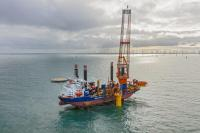 Van Oord's offshore installation vessel Aeolus will be used on Sofia (pict. RWE Renewables)